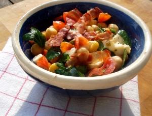 Pois chiche en salade de presque l'été
